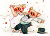 Schweinehochzeit